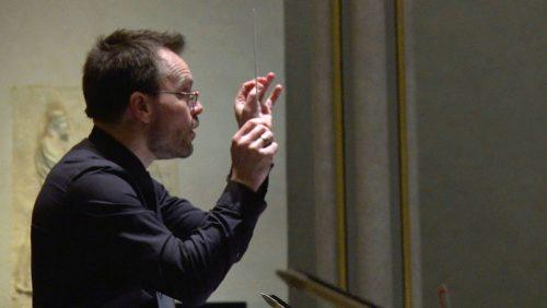 Me conducting